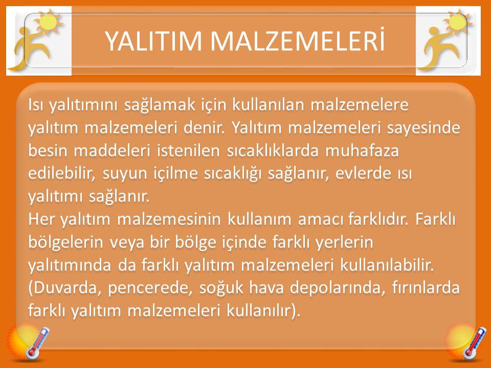 YALITIM MALZEMELERİ