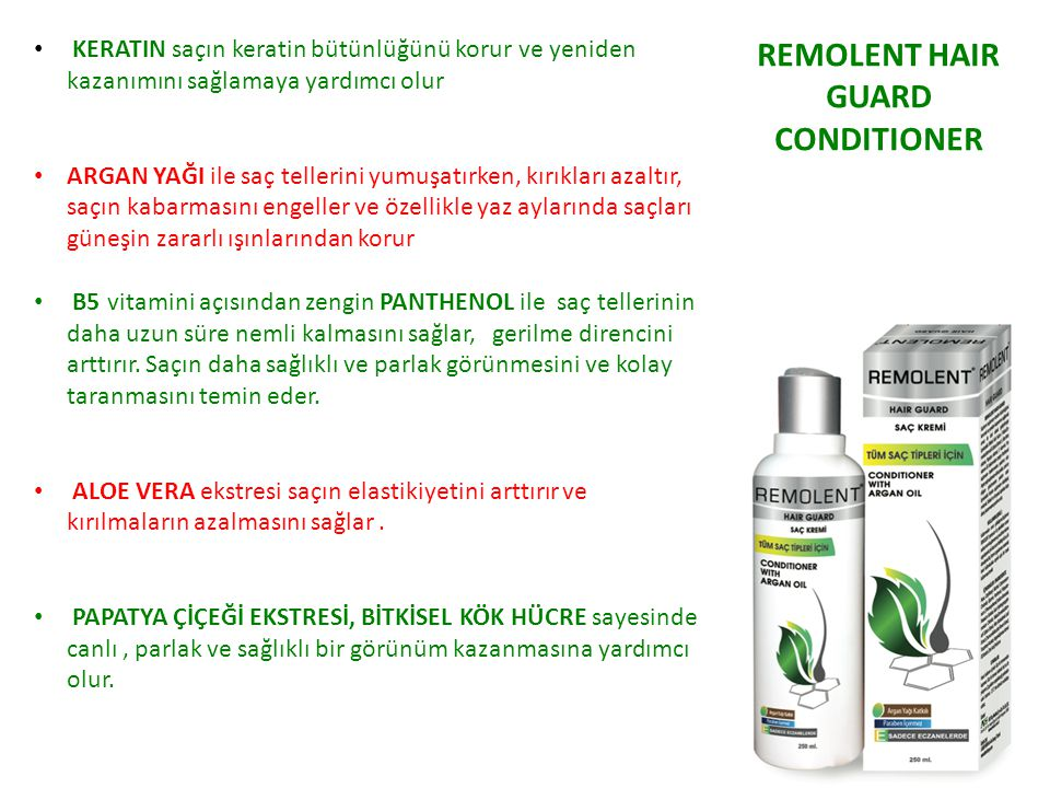 REMOLENT HAIR GUARD CONDITIONER