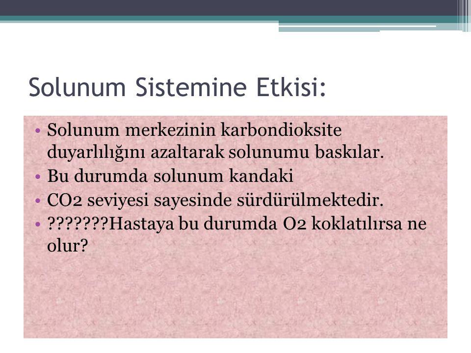Solunum Sistemine Etkisi:
