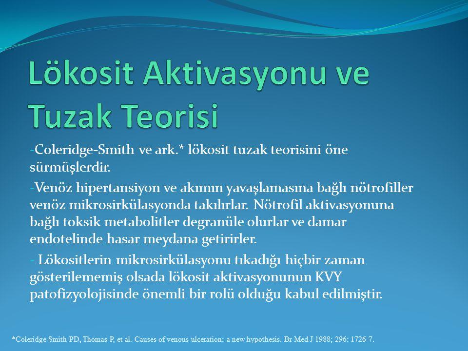 Lökosit Aktivasyonu ve Tuzak Teorisi