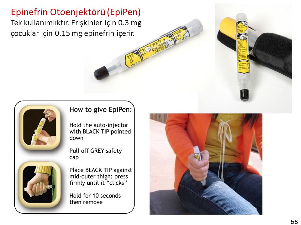 Epinefrin Otoenjektörü (EpiPen)