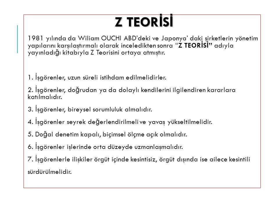 Z TEORİSİ