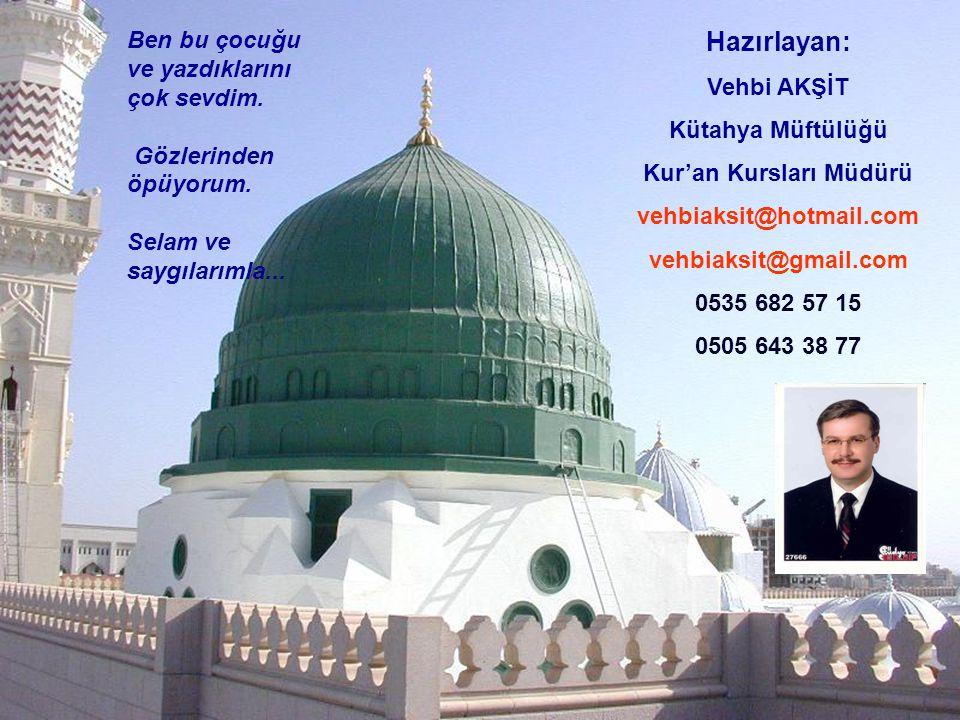 Kur'an Kursları Müdürü