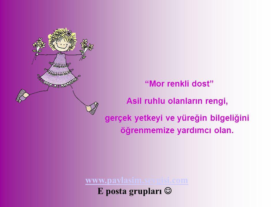 www.paylasim.sevgisi.com E posta grupları  Mor renkli dost