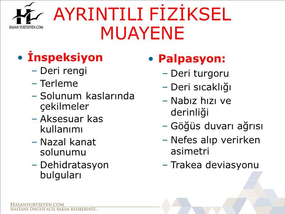 AYRINTILI FİZİKSEL MUAYENE