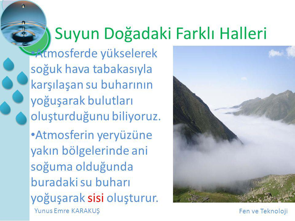 Suyun Doğadaki Farklı Halleri
