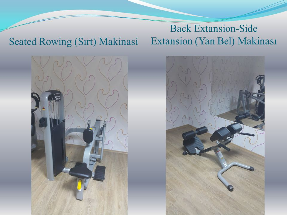 Seated Rowing (Sırt) Makinasi