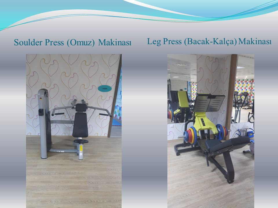 Leg Press (Bacak-Kalça) Makinası