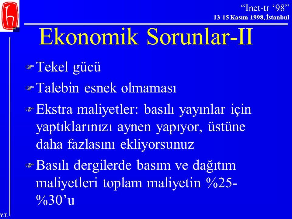 Ekonomik Sorunlar-II Tekel gücü Talebin esnek olmaması
