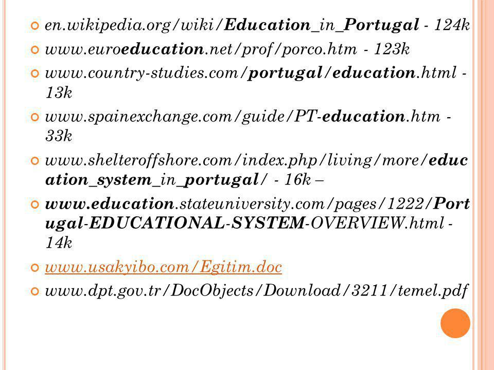 en.wikipedia.org/wiki/Education_in_Portugal - 124k