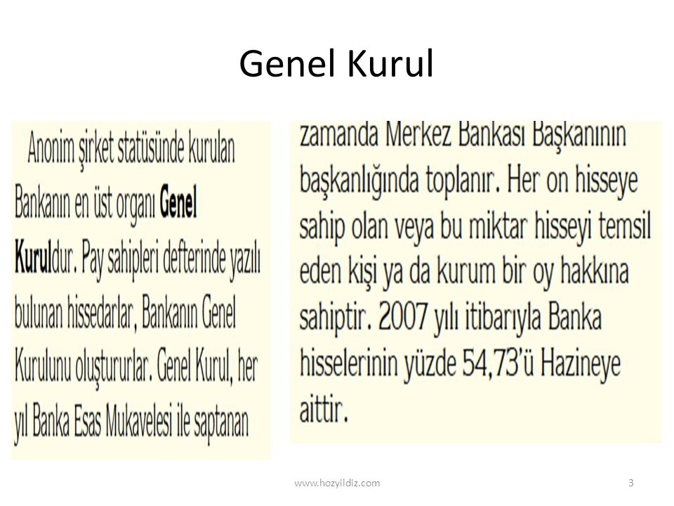 Genel Kurul www.hozyildiz.com