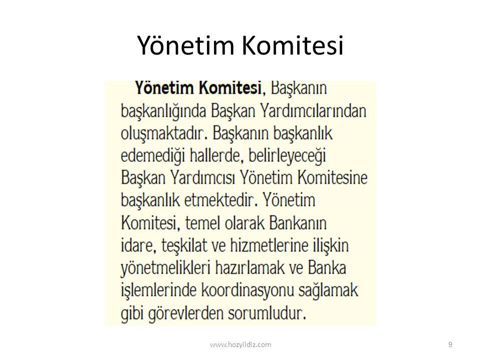 Yönetim Komitesi www.hozyildiz.com
