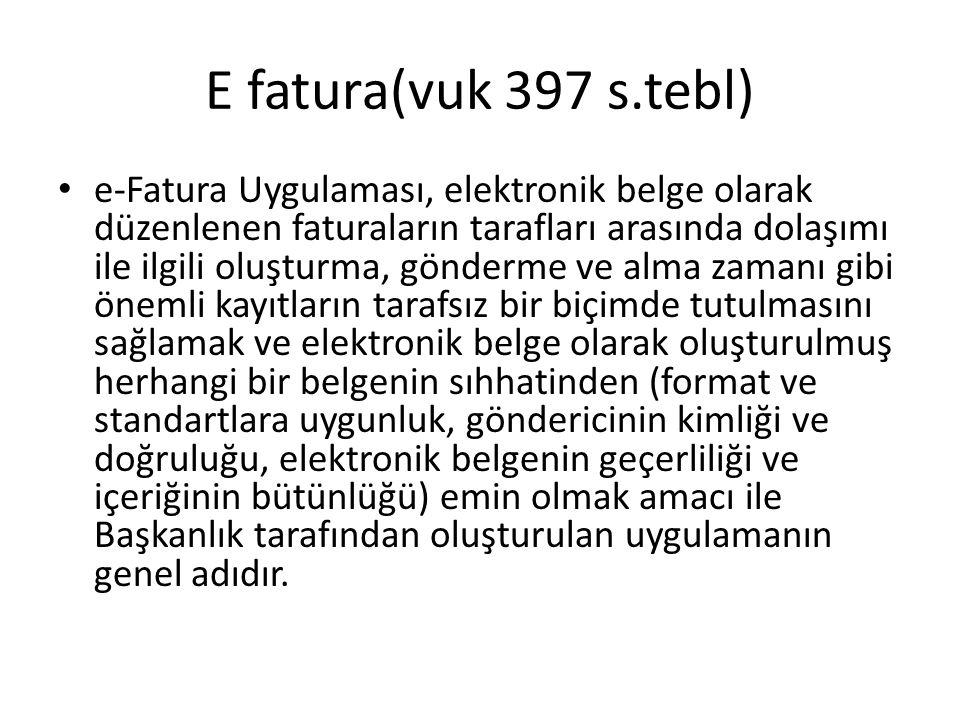 E fatura(vuk 397 s.tebl)