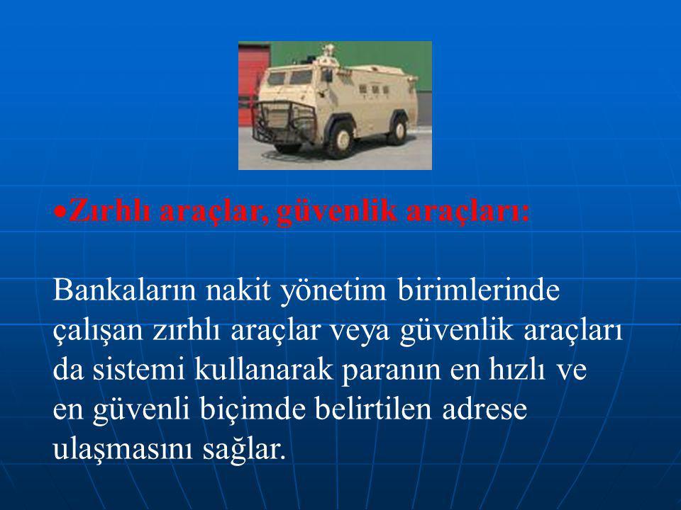 Zırhlı araçlar, güvenlik araçları: