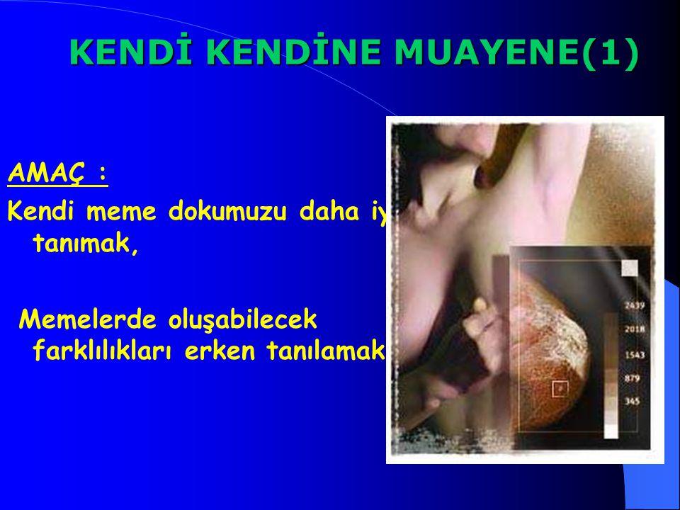 KENDİ KENDİNE MUAYENE(1)
