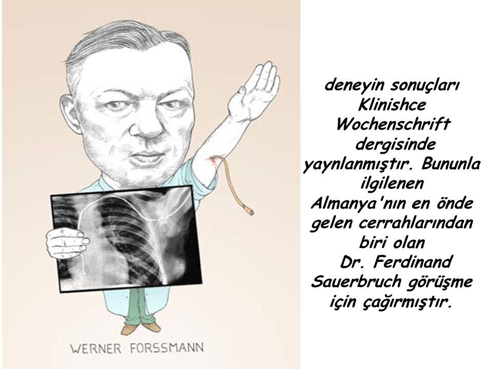 Klinishce Wochenschrift dergisinde yaynlanmıştır. Bununla ilgilenen