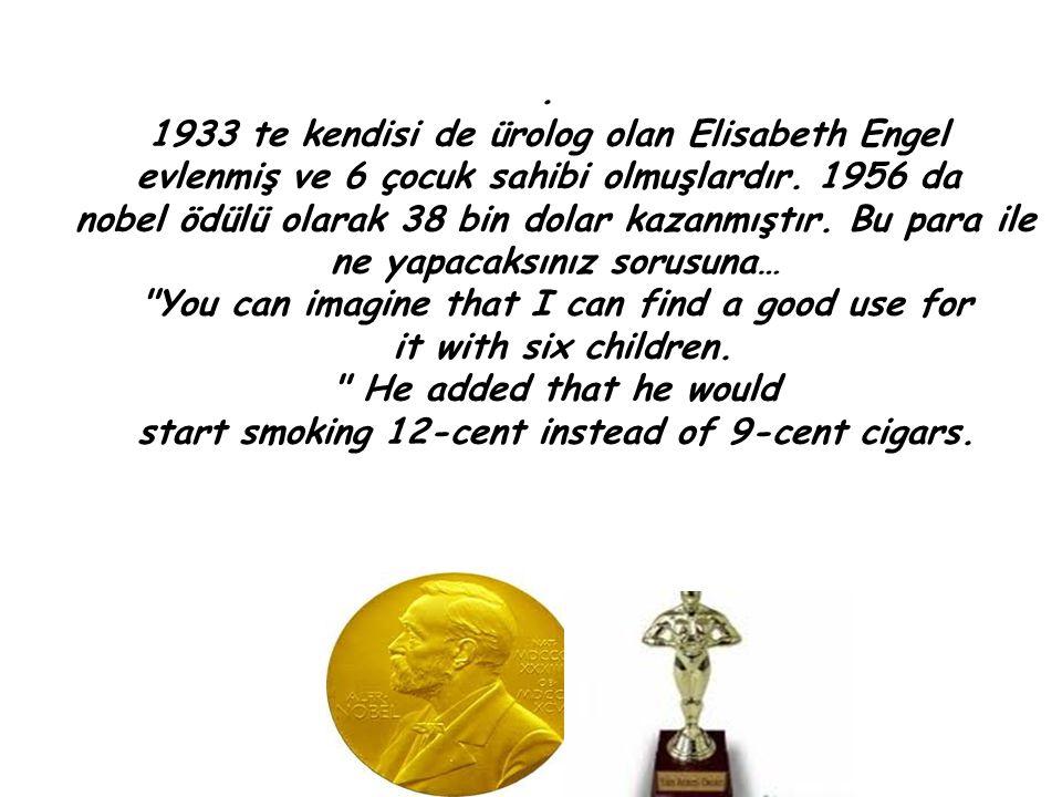 1933 te kendisi de ürolog olan Elisabeth Engel