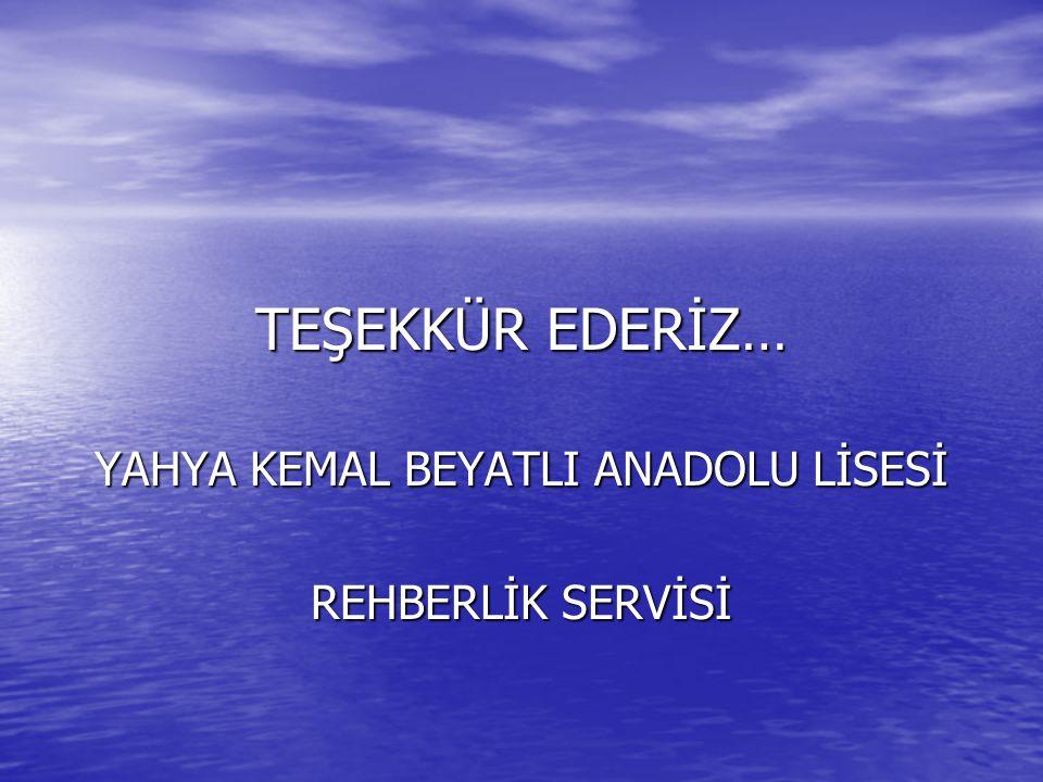YAHYA KEMAL BEYATLI ANADOLU LİSESİ