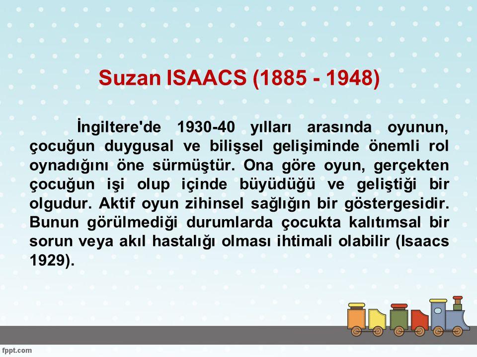 Suzan ISAACS (1885 - 1948)