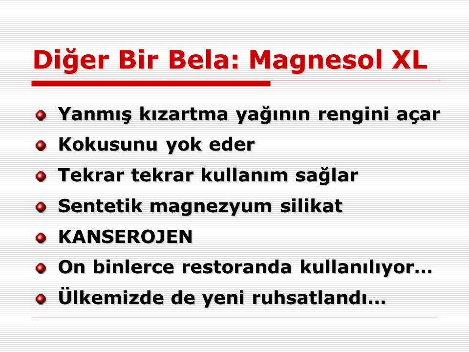 Diğer Bir Bela: Magnesol XL