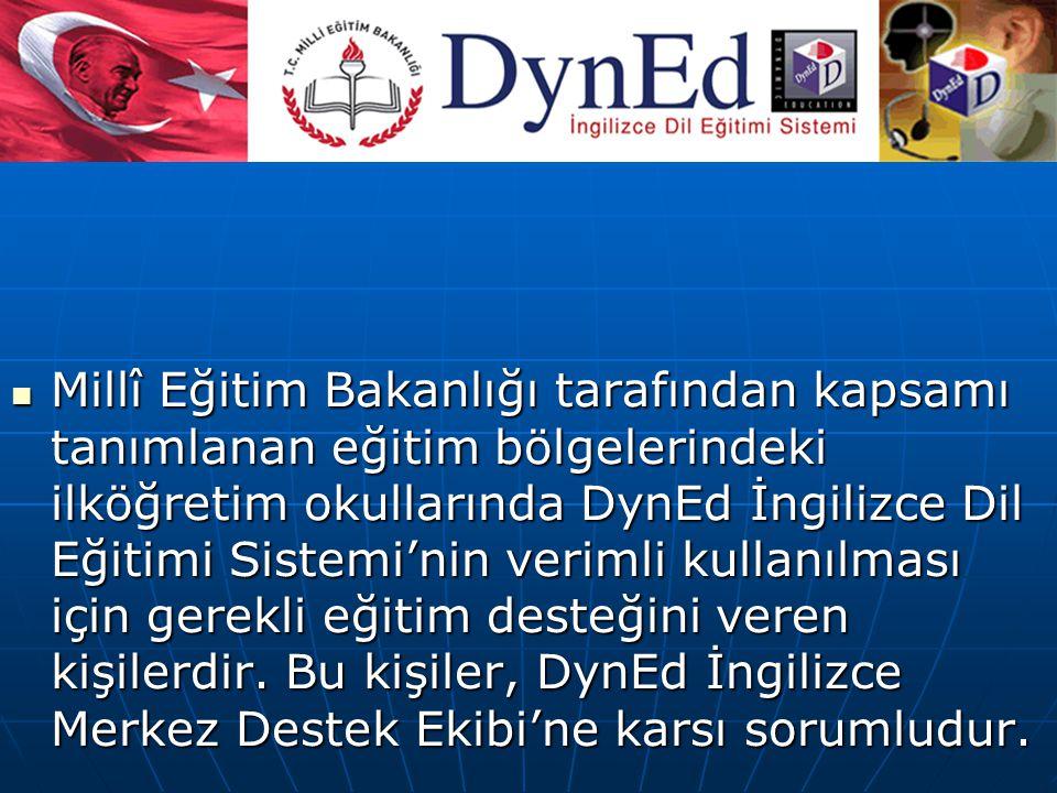 DynEd İngilizce Bölge Temsilcileri:
