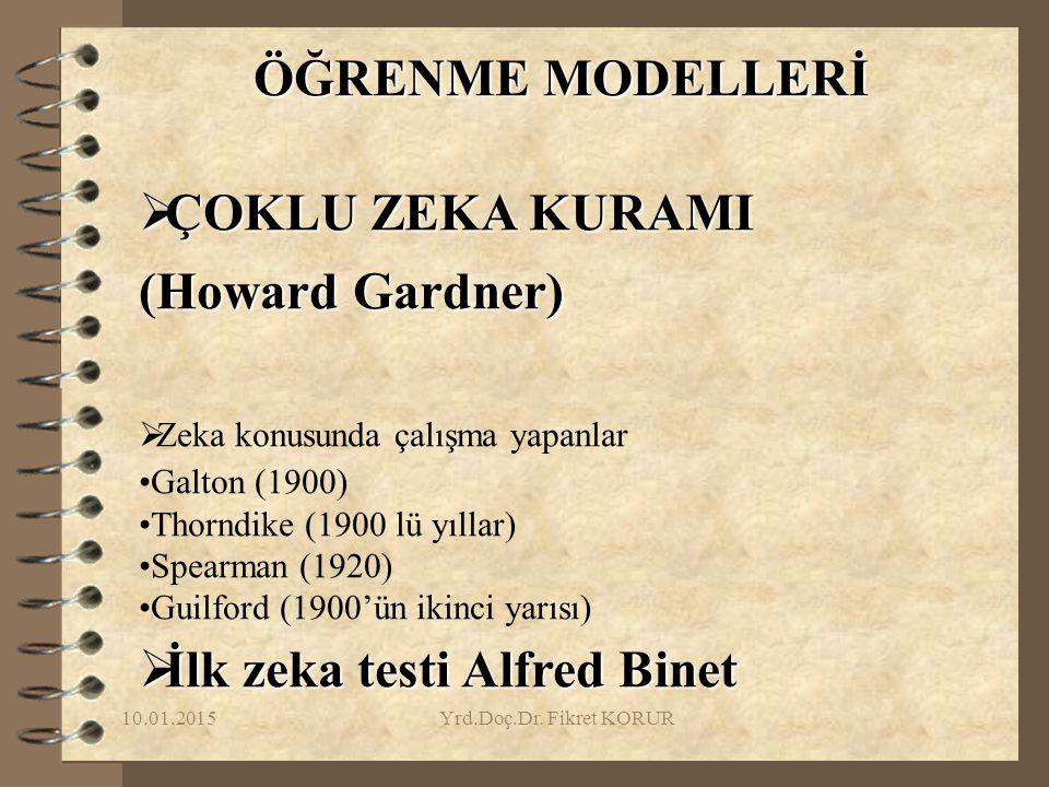 İlk zeka testi Alfred Binet