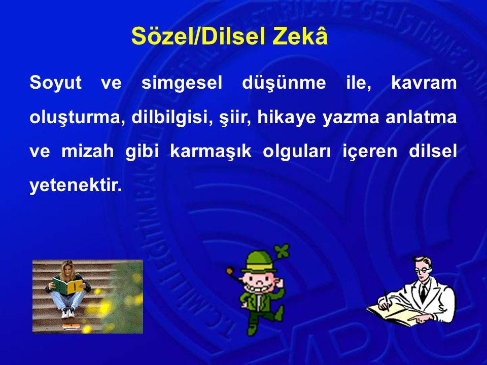 Sözel/Dilsel Zekâ