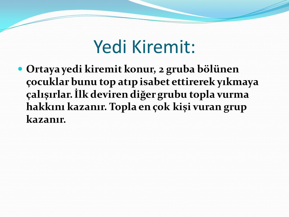 Yedi Kiremit: