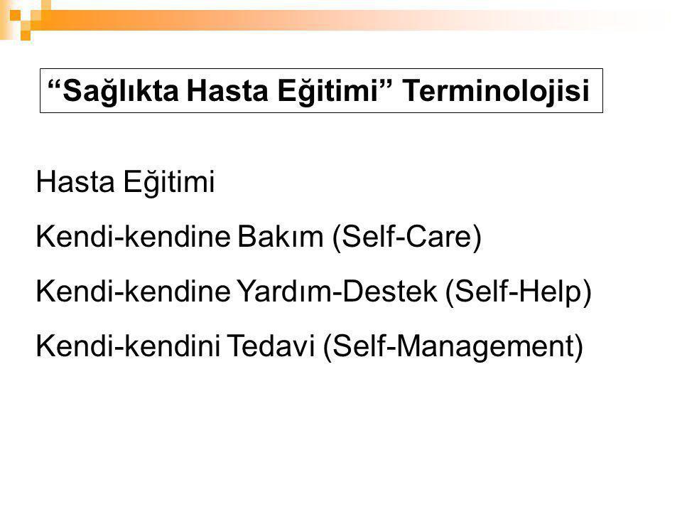 Sağlıkta Hasta Eğitimi Terminolojisi