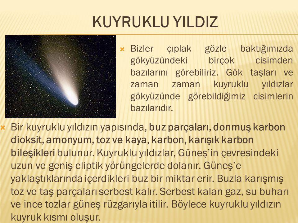 KUYRUKLU YILDIZ