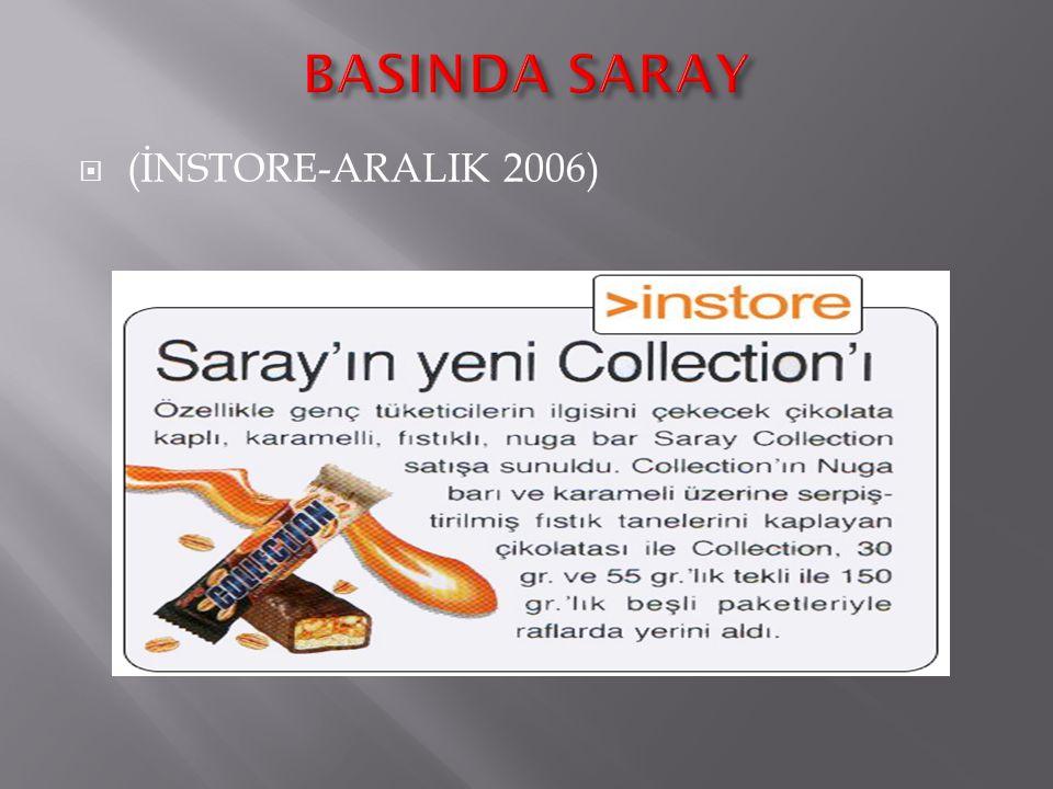 BASINDA SARAY (İNSTORE-ARALIK 2006)
