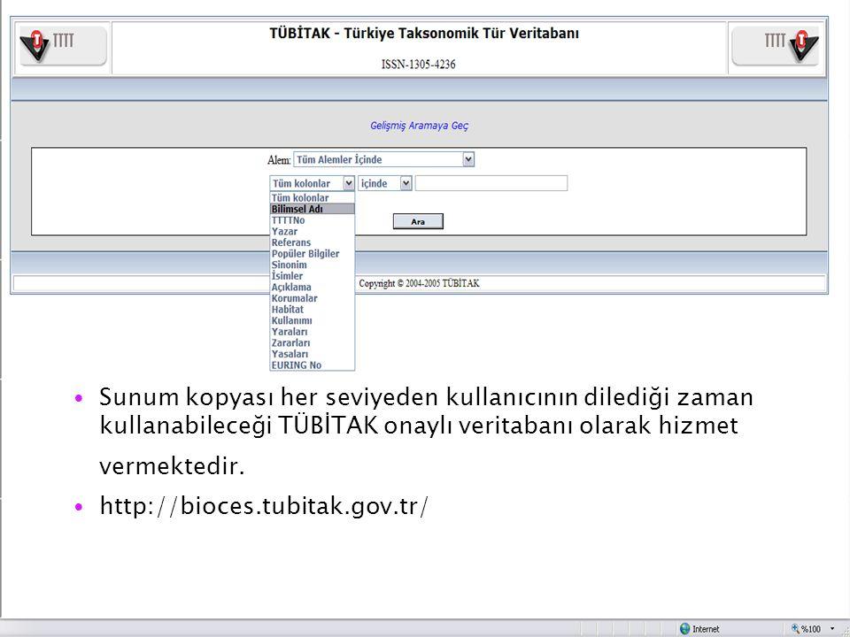 Sunum kopyası her seviyeden kullanıcının dilediği zaman kullanabileceği TÜBİTAK onaylı veritabanı olarak hizmet vermektedir.