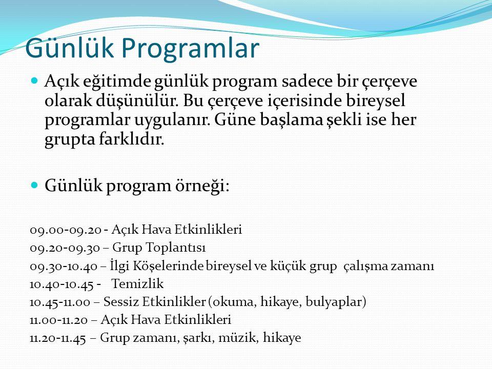 Günlük Programlar