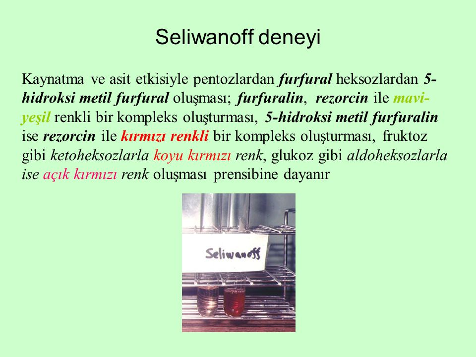 Seliwanoff deneyi