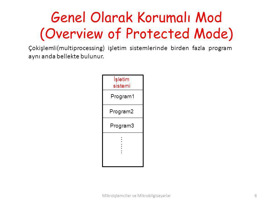 Genel Olarak Korumalı Mod (Overview of Protected Mode)