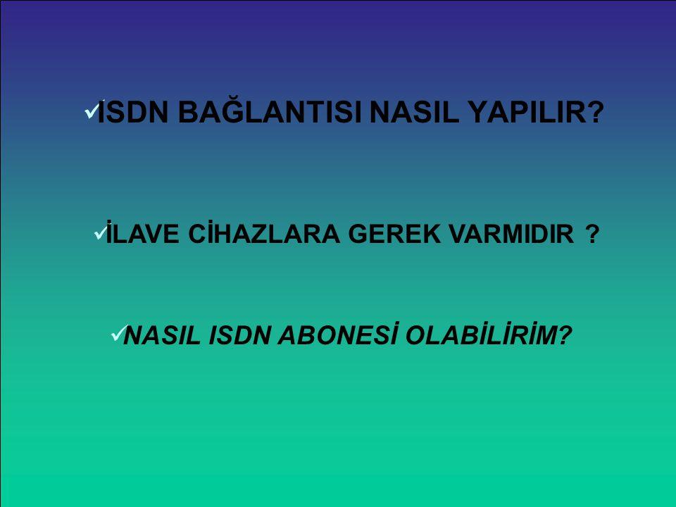 İNTERNET ERİŞİM ŞEKİLLERİ