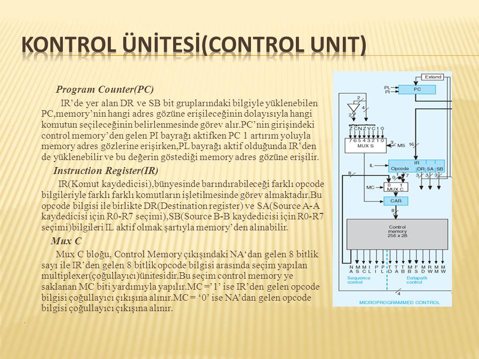 Kontrol Ünİtesİ(Control Unit)