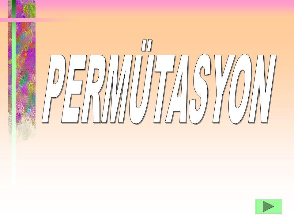 PERMÜTASYON