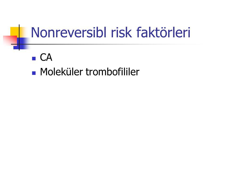 Nonreversibl risk faktörleri