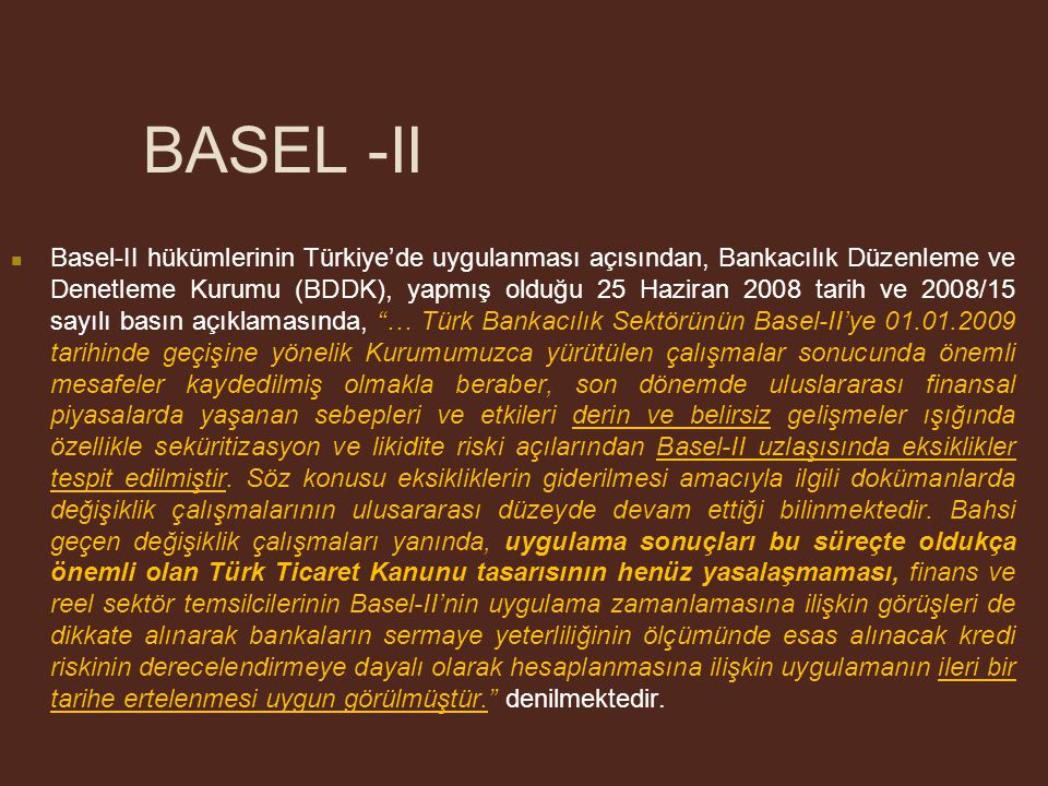 BASEL -II