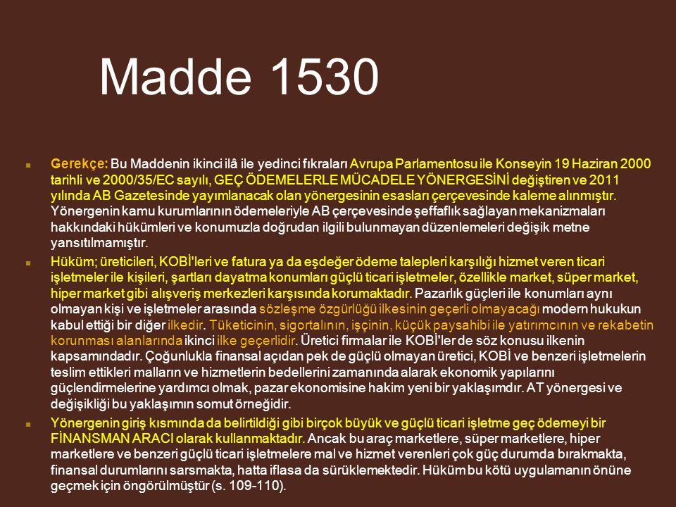 Madde 1530