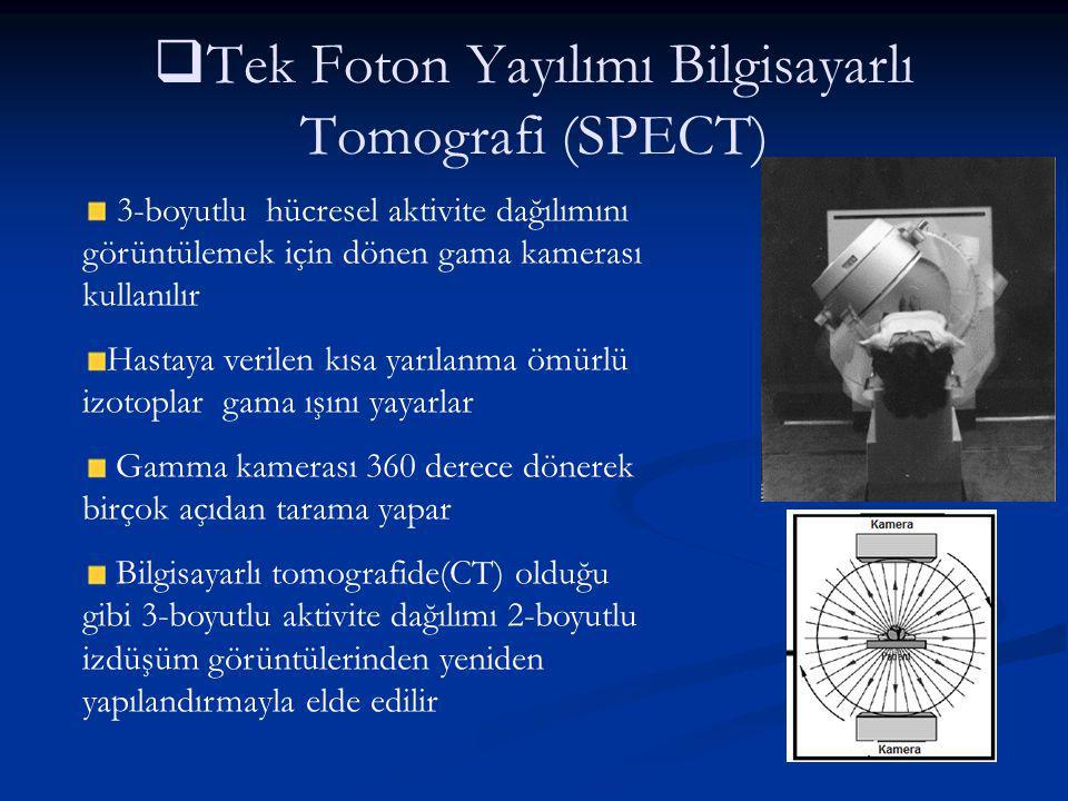 Tek Foton Yayılımı Bilgisayarlı Tomografi (SPECT)