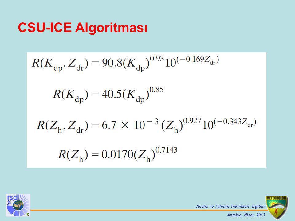 CSU-ICE Algoritması