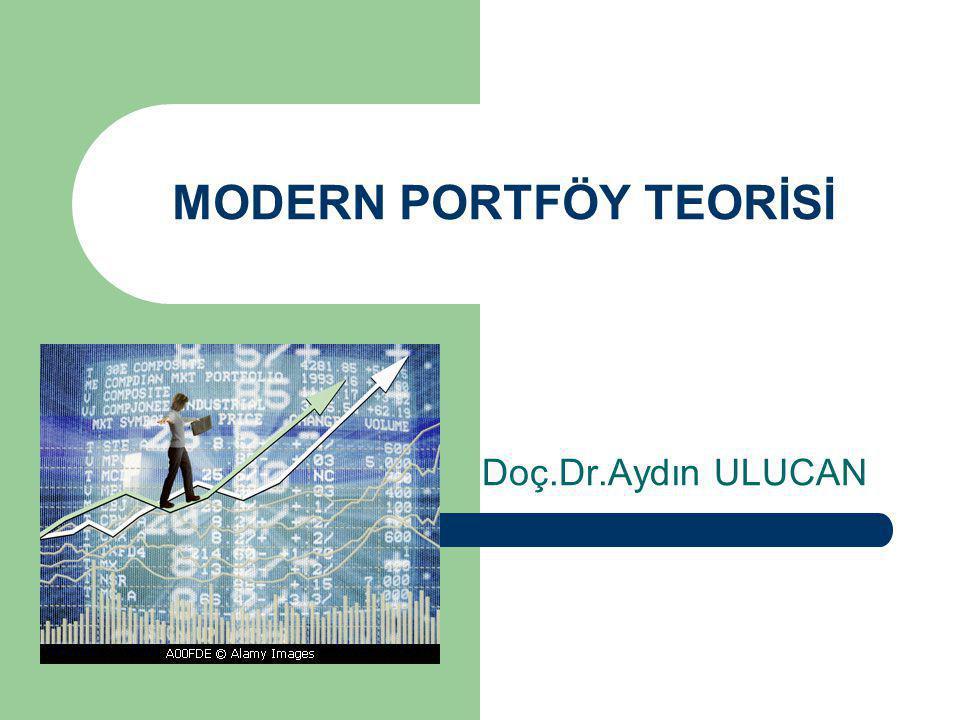 MODERN PORTFÖY TEORİSİ