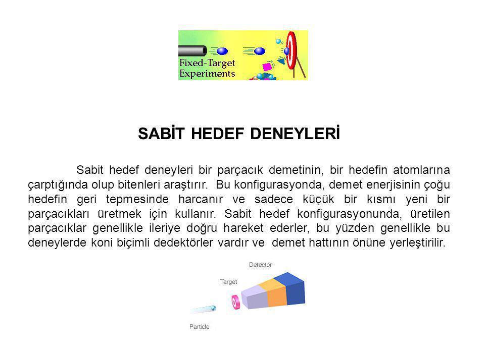 SABİT HEDEF DENEYLERİ