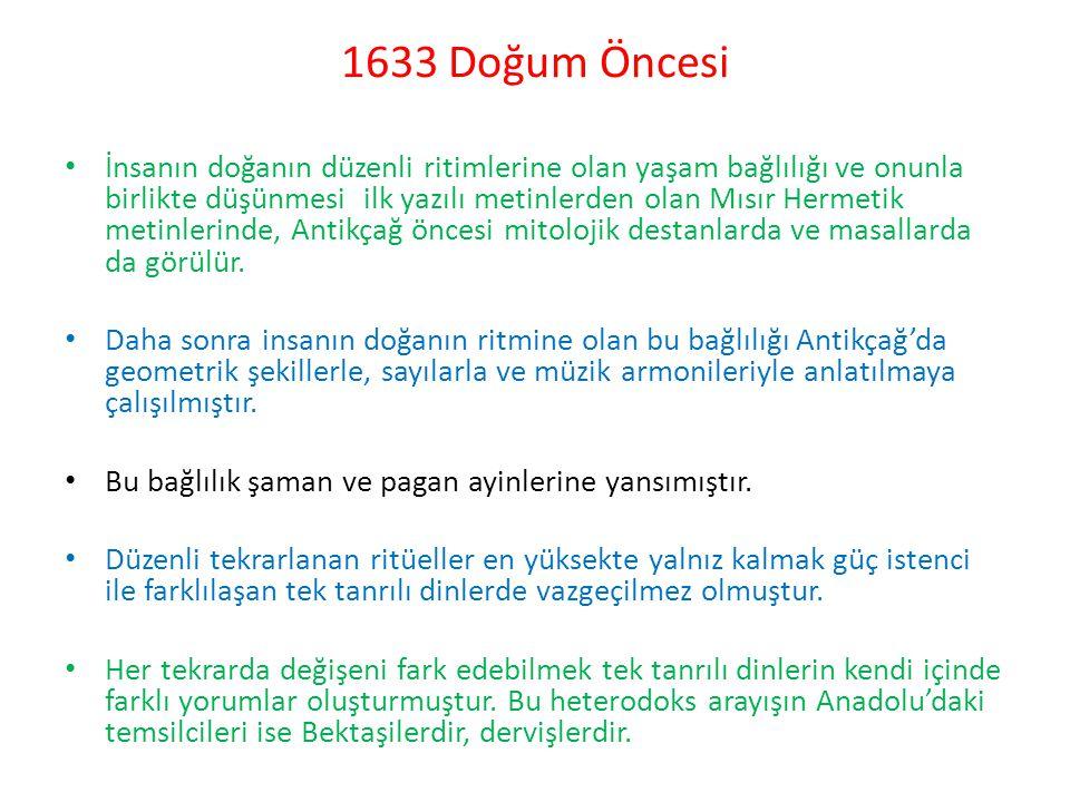 1633 Doğum Öncesi
