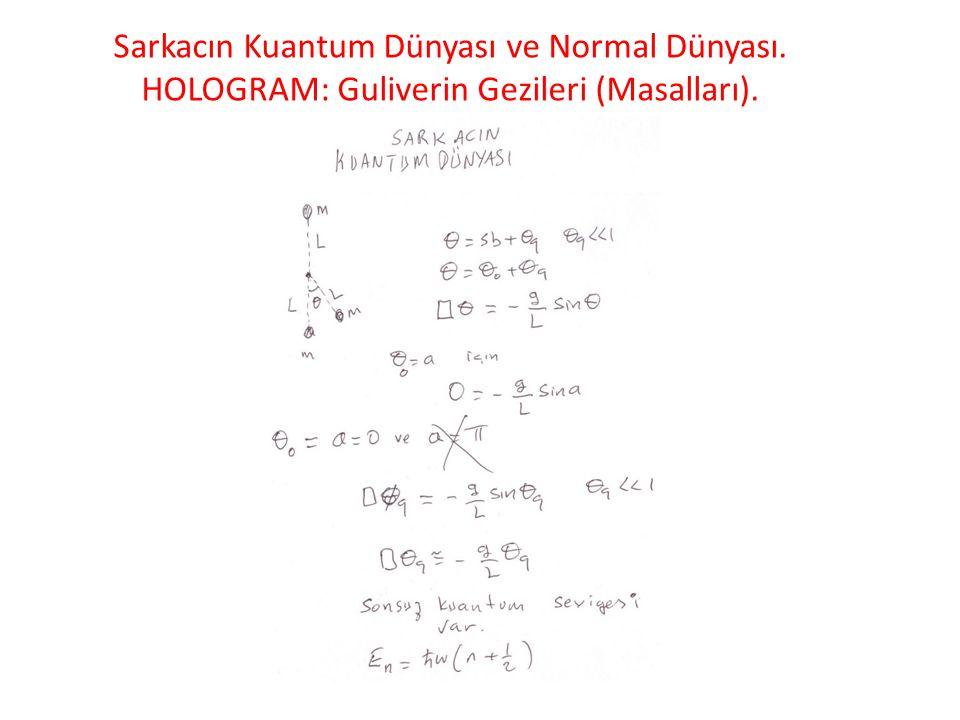 Sarkacın Kuantum Dünyası ve Normal Dünyası