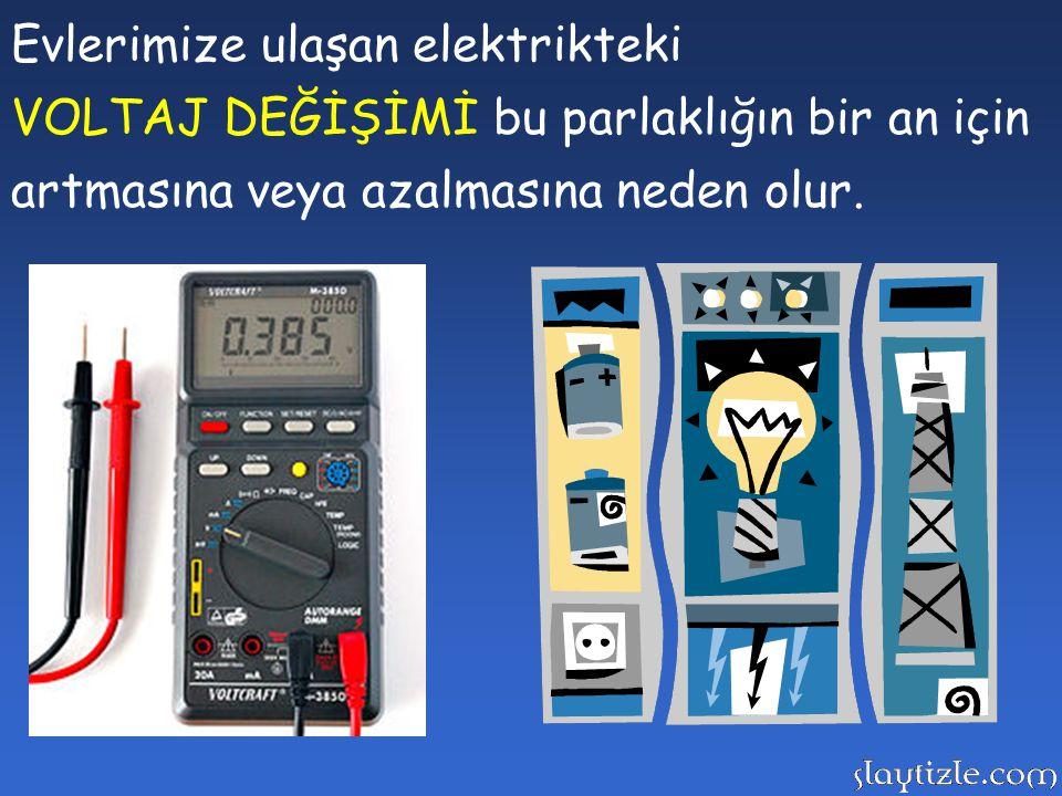 Evlerimize ulaşan elektrikteki