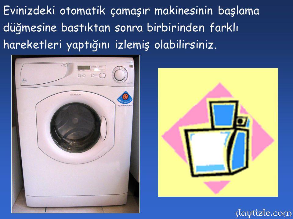 Evinizdeki otomatik çamaşır makinesinin başlama düğmesine bastıktan sonra birbirinden farklı hareketleri yaptığını izlemiş olabilirsiniz.