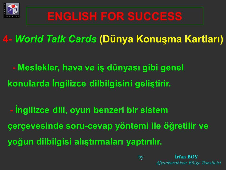 4- World Talk Cards (Dünya Konuşma Kartları)